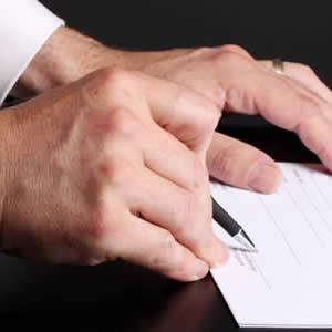 Firmando autorizacion